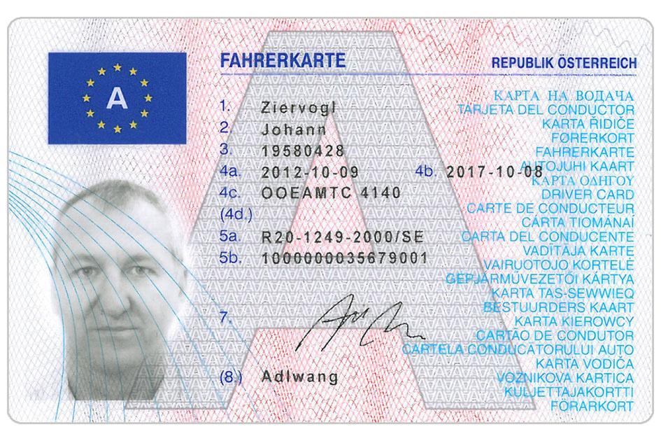 fahrerkarte